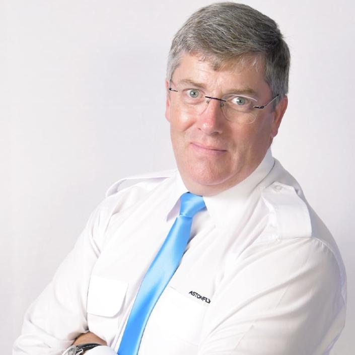 Patrick Milward nommé directeur général de l'école de pilotage Astonfly